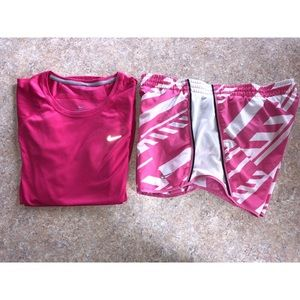 Nike athletic outfit bundle